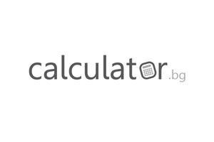 Calculator.bg реализира средно на месец около 167 500 посещения, от които 116 700 са уникалните